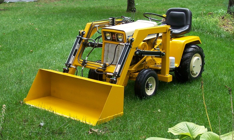 Used Lawn Tractor With Front Loader : Pullman standard passenger cars prototypes models