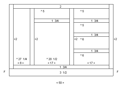 Kitchen Cabinet Shop Drawings The Shop Plan Drawing For The Combined