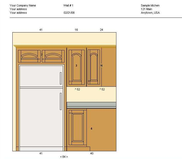 kitchen cabinet drawings free cabinet planner screenshots 5393