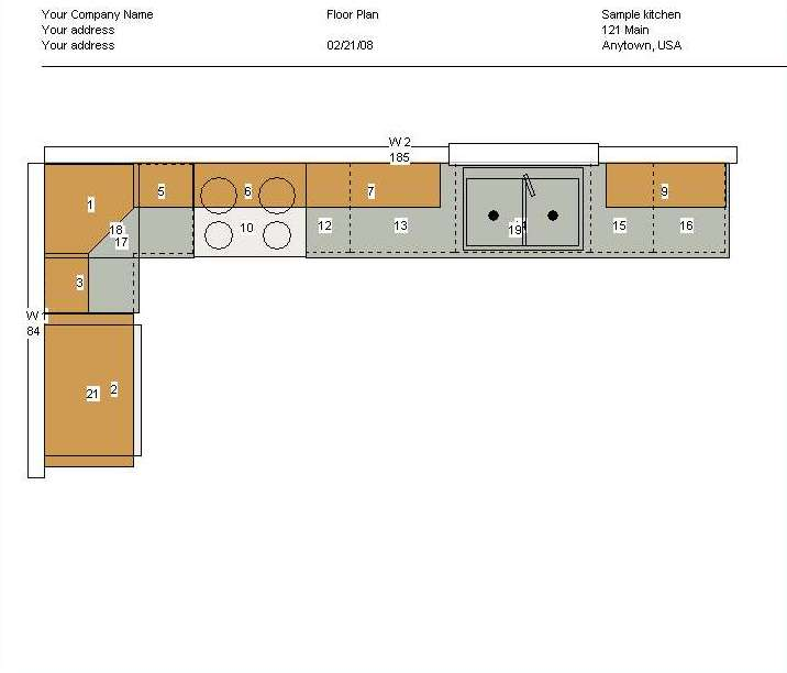 Kitchen Design And Layout Plans: Cabinet Planner Screenshots